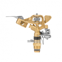 """Pulzní, rotační postřikovač 360°, vnější závit 1/2"""", 25m, nastavitelný GKV5040SGZ"""