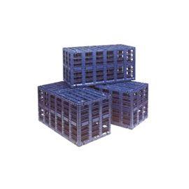 Q-BB BOX akumulační 600x600x1200mm, objem 413 litrů bez revize KAXL