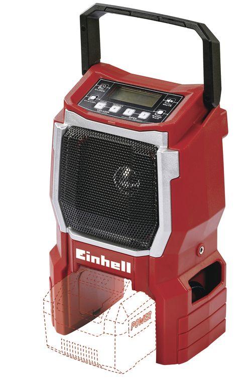 Rádio aku TE-CR 18 Li (bez baterie) Einhell Expert Plus Nářadí-Sklad 1 | 0.87