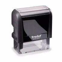 Razítko TRODAT 4913, samonamáčecí - černý otisk 56x20mm