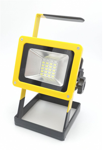 Reflektor LED nabíjecí 20 - 40 W, s podstavcem BASS *HOBY 0.65Kg BP-5914