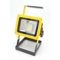 Reflektor LED nabíjecí 20 - 40 W, s podstavcem BASS