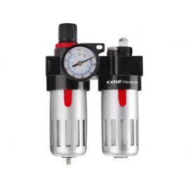 Regulátor tlaku s filtrem a manometrem a přim. oleje EXTOL PREMIUM