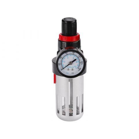 Regulátor tlaku s filtrem a manometrem EXTOL PREMIUM
