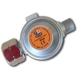 Regulátor vysokého tlaku plynu 4bar, 8kg/h