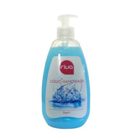 Riva tekuté mýdlo fresh 500 g - s dávkovačem