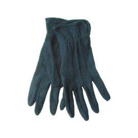 Rukavice bavlněné bílé s PVC terčíky na dlani, velikost 10'', 11367110206