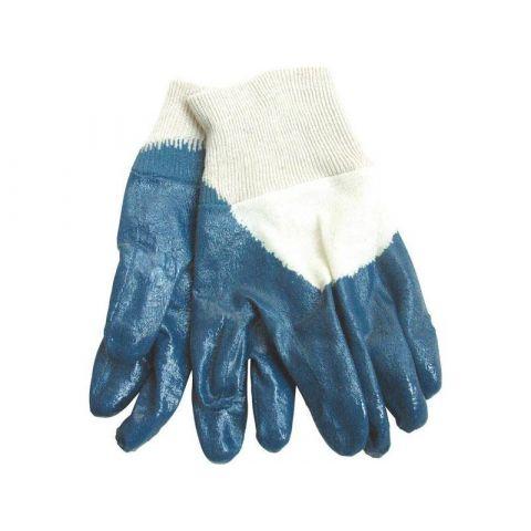 Rukavice bavlněné polomáčené v nitrilu, velikost 8'' ,dámské, náplet