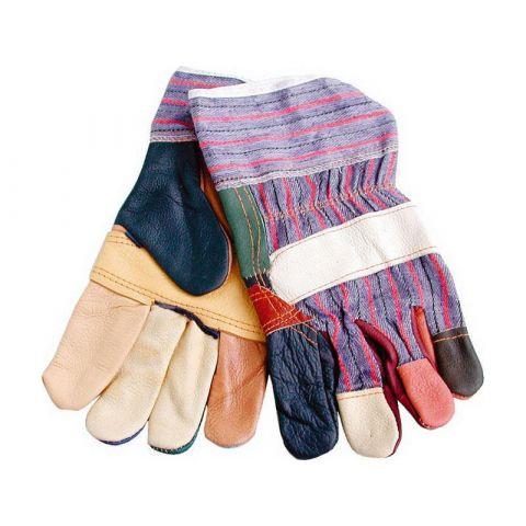 Rukavice kožené s vyztuženou dlaní, velikost 10''