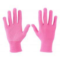 """Rukavice z polyesteru s PVC terčíky na dlani, velikost 7"""" EXTOL LADY"""