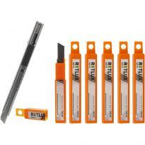 Sada 1x odlamovací nůž RSK 100 + 6x náhradní břity RSK 10 RETLUX