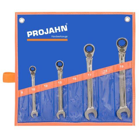 Sada GearTech ráčnových klíčů, 4 ks PROJAHN