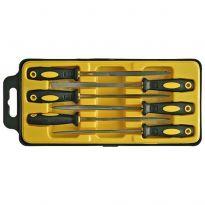 Sada jehlových pilníků 3x150mm/6ks