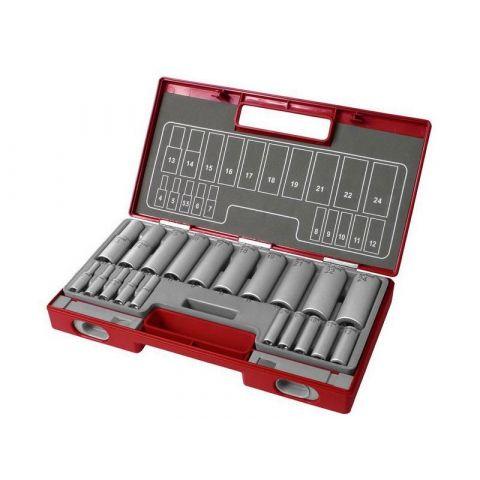 Sada prodloužených nástrčných klíčů 20ks, FORTUM