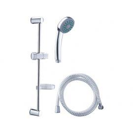 Sada sprchová velká, 3funkční hlavice, držák na sprchu, hadice 150cm, držák na mýdlo, tyč, VIKING