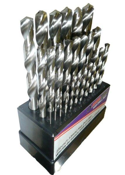 Sada vrtáků na železo HSS-G 1-13mm 25ks MARPOL