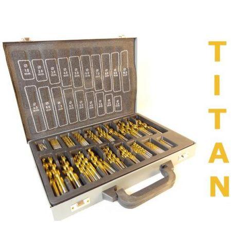 Sada vrtáků na železo TITAN 170ks MAR-POL