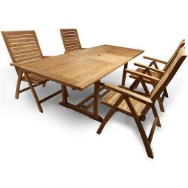 Sada zahradního teakového nábytku KATRINA FIELDMANN
