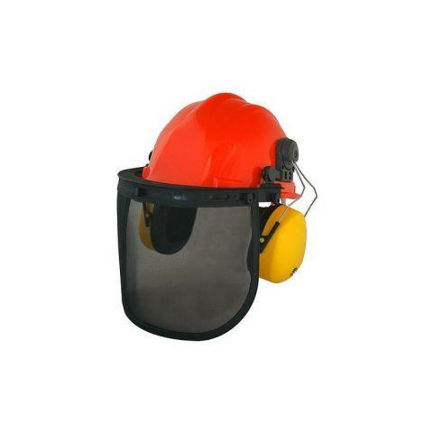 Safetyco SM-409P, ochranný štít, přilba, helma a chránič sluchu STREND PRO