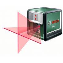 Samonivelační křížový laser Bosch Quigo, stativ, rozsah 10m, 0603663521