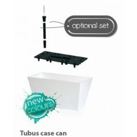 Samozavlažovací květináč-truhlík 12l TUBUS CASE CAN