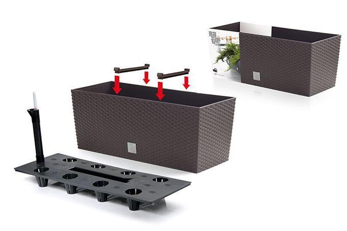 Samozavlažovací květináč-truhlík 30l RATO CASE Nářadí-Sklad 1 | 0