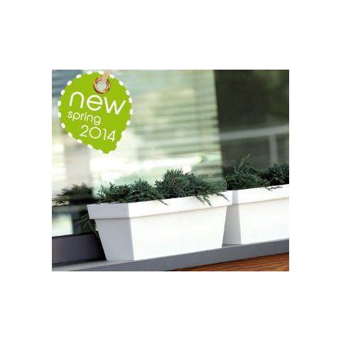 Samozavlažovací květináč-truhlík 8l CUBE CASE CAN