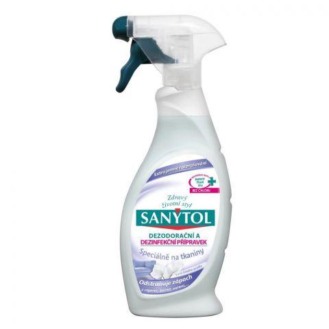 SANYTOL dezodorační a dezinfekční přípravek na tkaniny 500ml