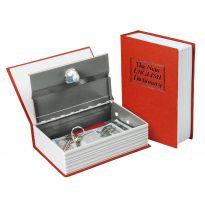 Schránka bezpečnostní - knížka, 180×115×54mm, 2 klíče, EXTOL CRAFT
