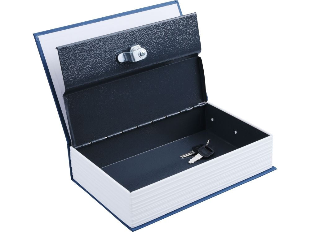 Schránka bezpečnostní - knížka, 245x155x55mm, 2 klíče, EXTOL CRAFT *HOBY 0.833Kg 99025