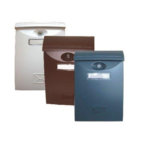 Schránka poštovní bílá / ABS plast