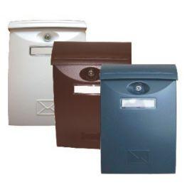 Schránka poštovní hnědá / ABS plast