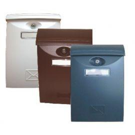 Schránka poštovní šedá / ABS plast