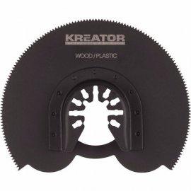 Segmentový řezný kotouč dřevo/plast KREATOR KRT990020