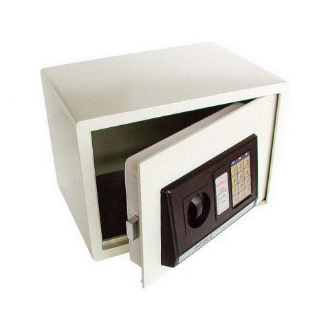 Sejf s elektronickým kódovým zabezpečením, 350x250x250mm, hmotnost 16kg, EXTOL CRAFT
