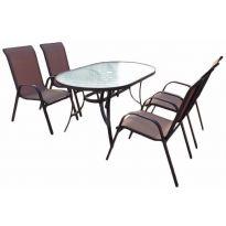 SET zahradního nábytku Nerang - Bronz Design