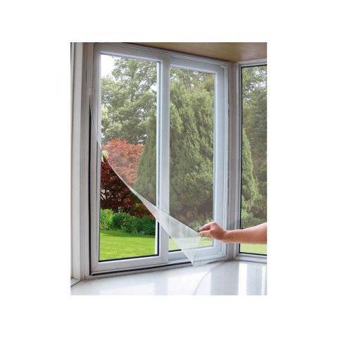 Síť okenní proti hmyzu, 90x150cm, PES, EXTOL CRAFT