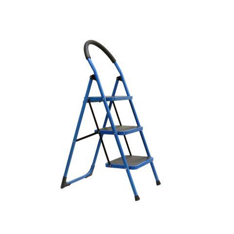 Skládací třístupňový žebřík GEKO