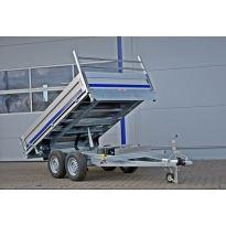 Sklápěcí přívěsný vozík 2700kg K273018A-3 s elektrickým ovládáním BLYSS