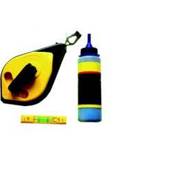 Šňůra značkovací PLAST + křída + vodováha