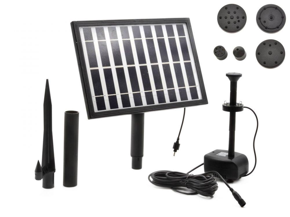 Solární čerpadlo 5W pro zahradní jezírko GEKO