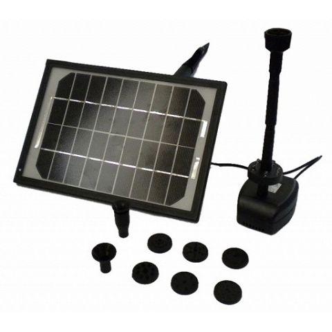 Solární fontánové čerpadlo s LED osvětlením, BASS