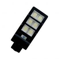 Solární pouliční lampa se snímačem pohybu a dálkovým ovládáním 160 W, 440 LED BASS