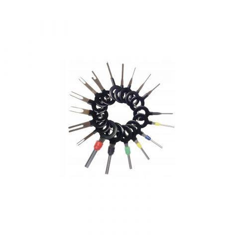 Speciální klíče pro vypichování konektorů, sada 18ks KRAFT&DELE