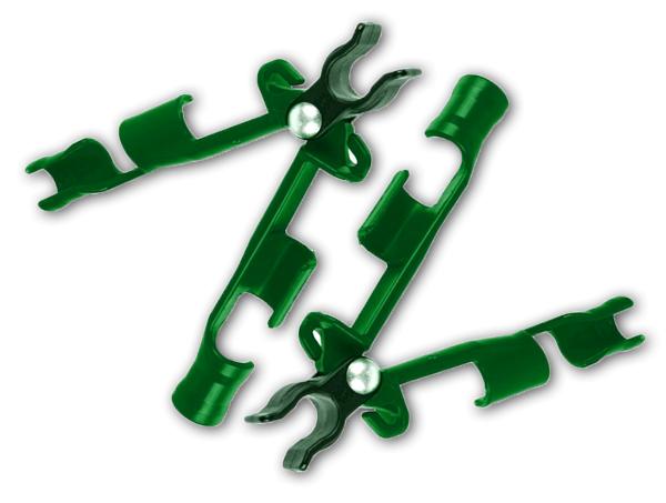 Spojka křížová na zahradní tyče 16mm, 3ks, nastavitelná