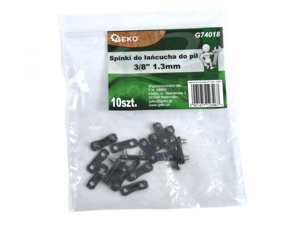 """Spojka řetězu pro řetězové pily 3/8"""", 1,3mm, balení 10ks GEKO *HOBY 0.001Kg G74018"""
