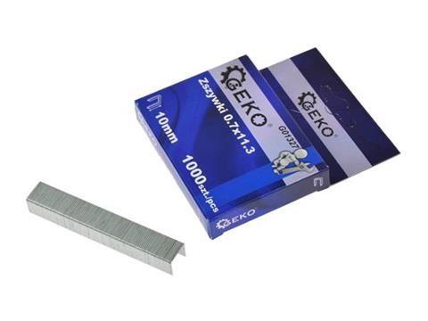Sponky 0,7x11,3x12mm, 1000ks GEKO
