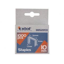 Spony, balení 1000ks, 8mm, 10,6x0,52x1,2mm EXTOL PREMIUM
