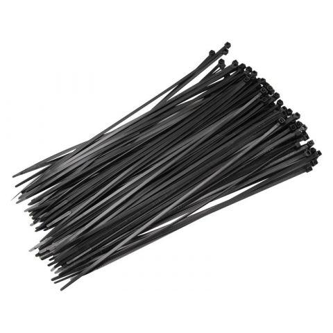 Stahovací pásky černé, 250x4,8mm, 50ks, nylon, EXTOL CRAFT