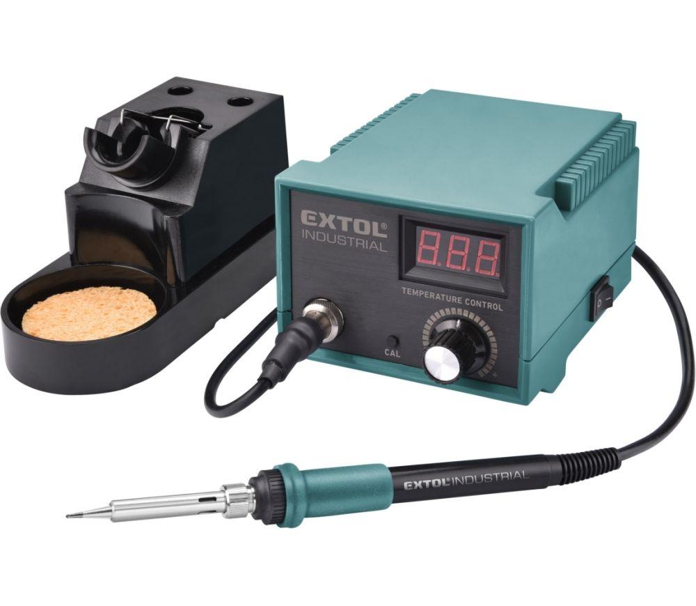 Stanice pájecí 70W s LCD a elektronickou regulací teploty a kalibrací EXTOL INDUSTRIAL Nářadí-Sklad 1 | 2.342